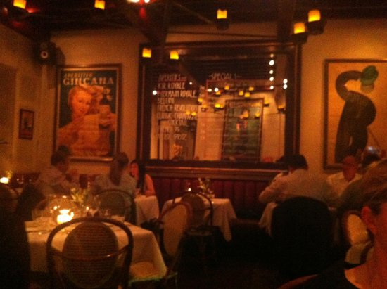 Palm Court Brasserie : Ambiente e atmosfera raffinati