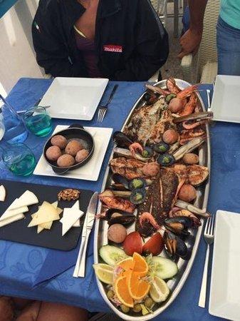 Restaurante El Risco: grigliata mista di pesce fresco