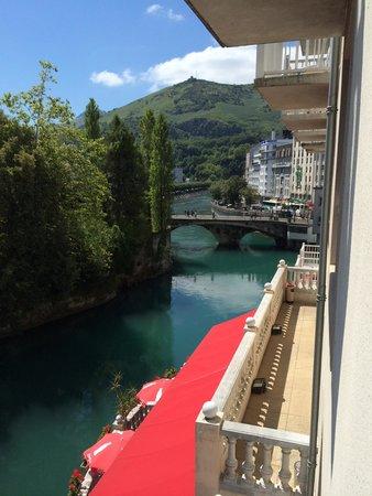 Hotel La Solitude : Vista dalla camera.
