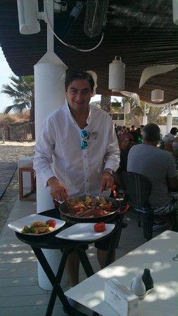 Hard Rock Hotel Ibiza: Rotja al Horno.