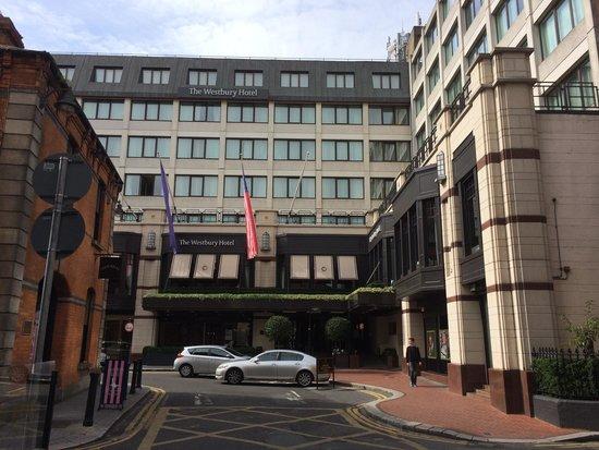 The Westbury: View from Grafton Street