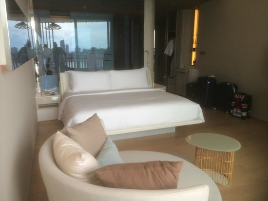 Hilton Pattaya: Chambre du 29 eme étage Magnifique Très confortable