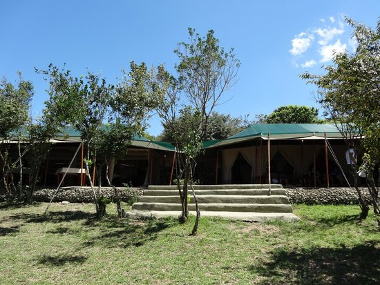 Front view of Entim Camp Dinning and Lounge