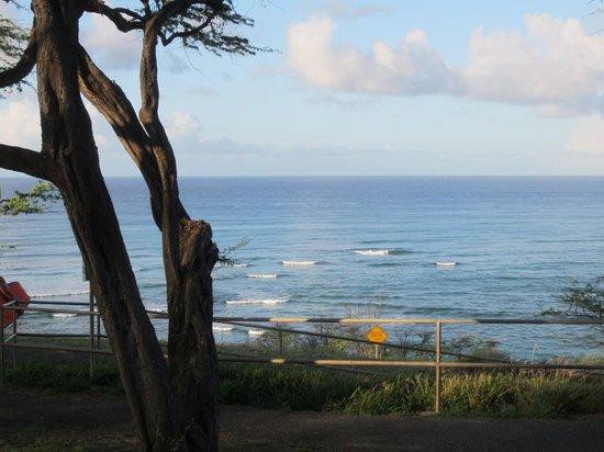 Outrigger Waikiki Beach Resort: 景色