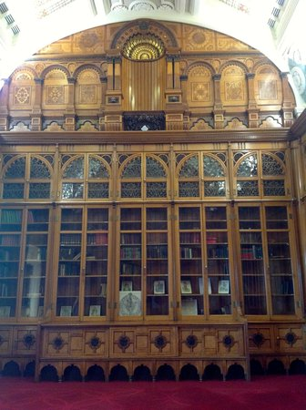 Library of Birmingham: The Shakespeare Room on Floor 9