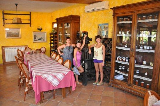 Poggio del Sole : Фото из ресторана 1