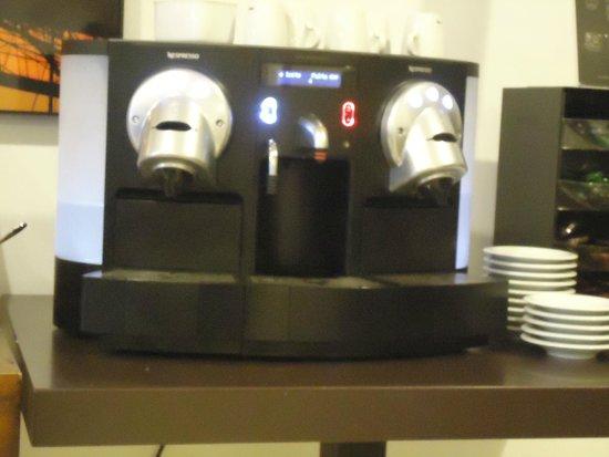 HF Fenix Urban: Macchina del caffè