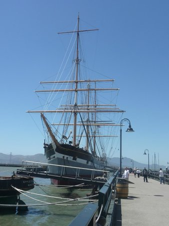 San Francisco Maritime National Historical Park: Hyde St  pier