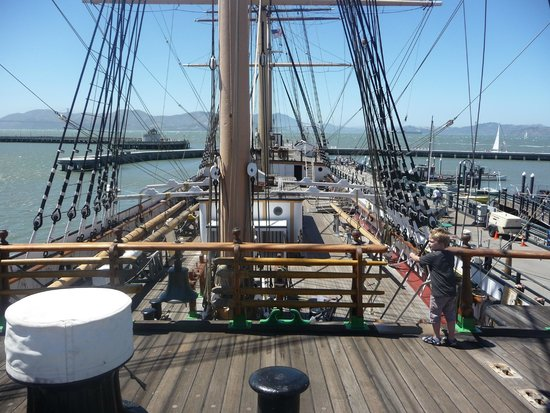 San Francisco Maritime National Historical Park: Hyde St pier ship