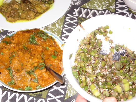 Grand West's Villas: Pumpkin curry with okra
