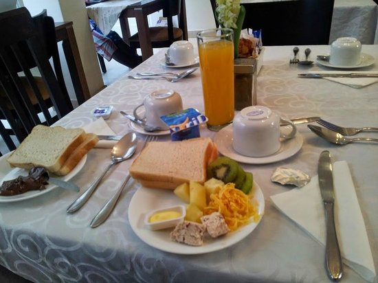 Enchanted Guest House : Breakfast/1
