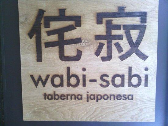 Wabi Sabi Decoracion ~ Wabi Sabi Taberna Japonesa Logo