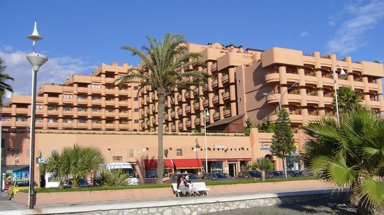 Almuñecar Playa Spa Hotel: El hotel