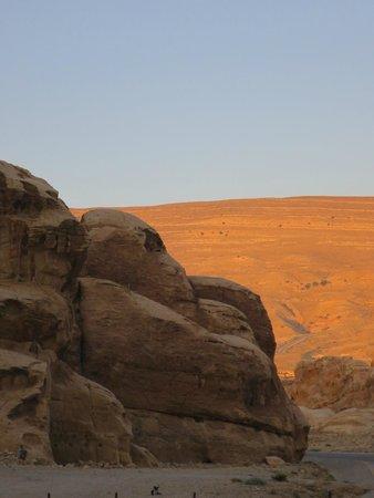 Beidha : a sandstone shaped like a monkey