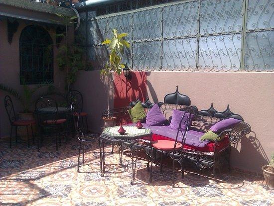 Hotel Sindi Sud: Терраса на крыше