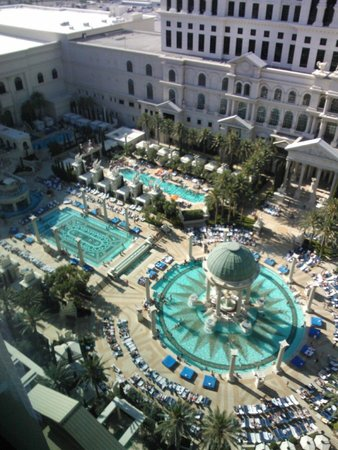 Caesars Palace: View from our room