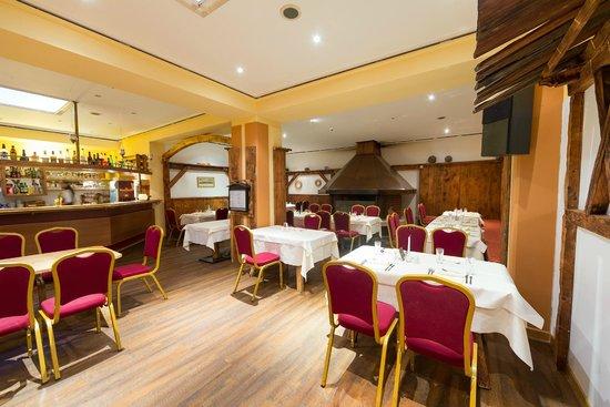 Alpen Hotel Weitlanbrunn: sala da pranzo