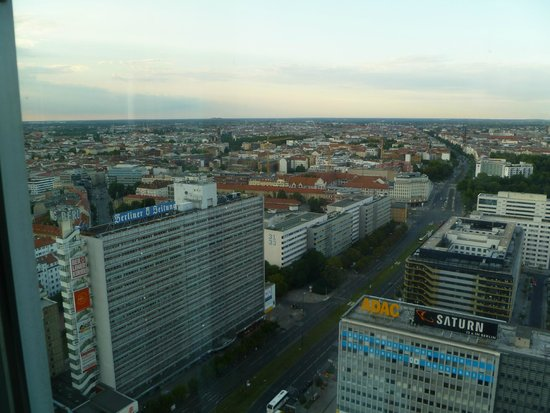 Park Inn by Radisson Berlin Alexanderplatz: View by day