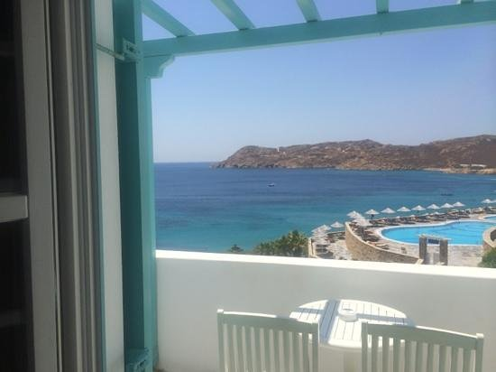 Myconian Imperial Hotel & Thalasso Centre : view from the room