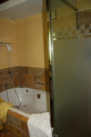 Vincci Hotel Envia Almeria Wellness & Golf: ducha y bañera