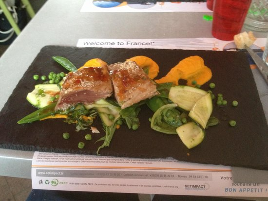 Bodega Koko : Le thon rouge cuit et cru.