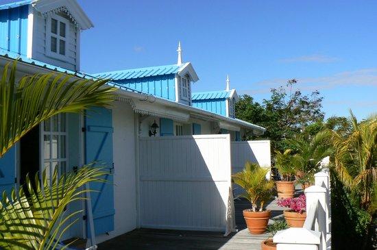 terrasse photo de maison papaye la gaulette tripadvisor. Black Bedroom Furniture Sets. Home Design Ideas