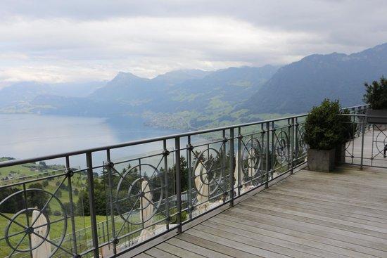 Hotel Villa Honegg: View from room terrace