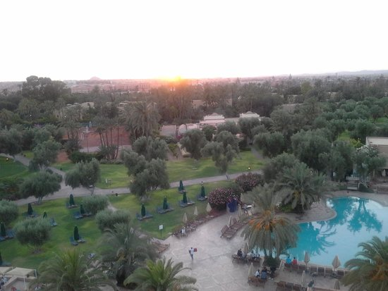 Club Med Marrakech le Riad : vue panoramique