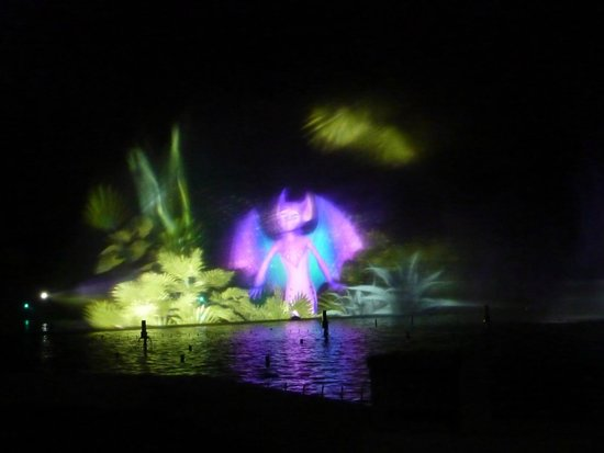 Futuroscope : spectacle de nuit