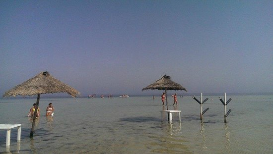 SENTIDO Rosa Beach : relaxing in the sea.