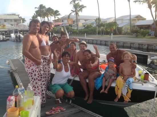 Patou Excursions : Retour de Petite Terre après une magnifique journée