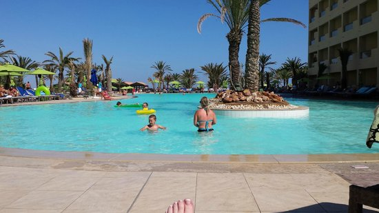 SENTIDO Rosa Beach : View from sunbed