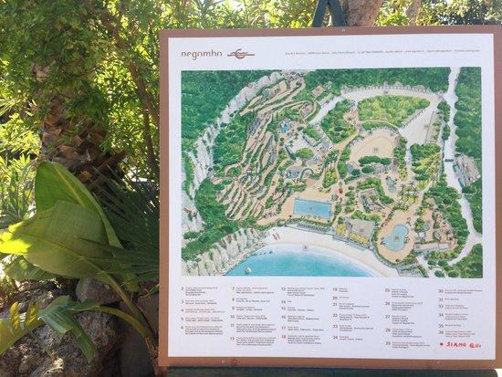 Negombo Giardini Termali : mappa