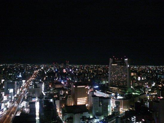 Hotel Monterey Grasmere Osaka: 部屋からの夜景