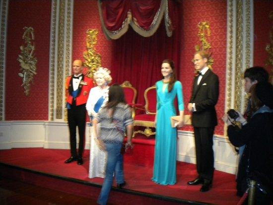 Madame Tussauds London: FAMIGLIA REALE!!!