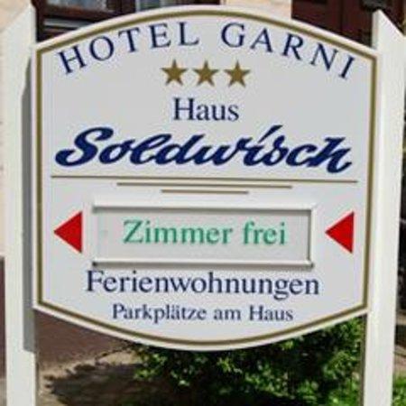 Haus Soldwisch Hotel Garni: Herzlich willkommen