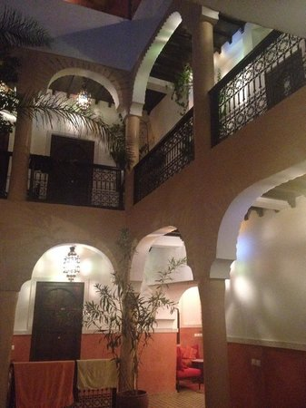 Riad Itrane : View from courtyard