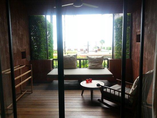 Hansar Samui Resort: Balcony