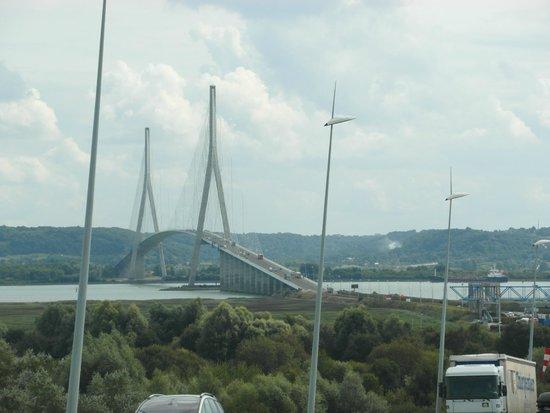 Pont de Normandie : In arrivo da Le Havre