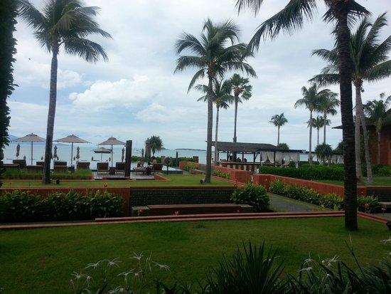 Hansar Samui Resort: View from room