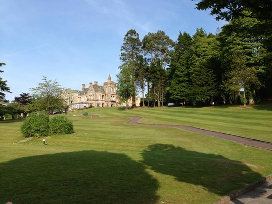 Culloden Estate & Spa: looking back across grounds