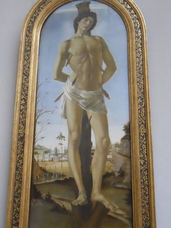 Gemäldegalerie: Martirio di San Sebastino - Botticelli