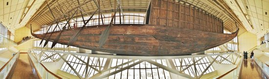 Musée de la barque solaire : You have to see it to appreciate the scale and preservation