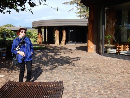 Hotel Hangaroa Eco Village & Spa : View over pool area