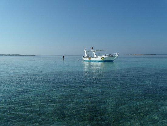 Îles Giftoun : Snorkeling boat @ Red Sea, Hurgada, Egypt