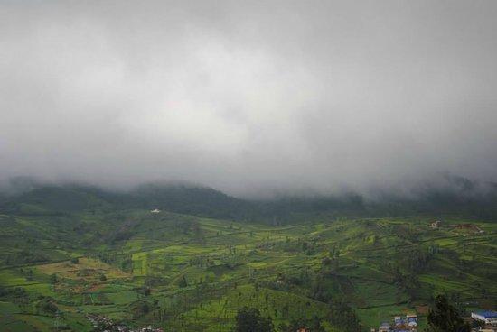 Emerald Lake: Mist falling down..
