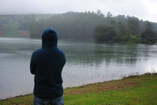Emerald Lake: On the lake