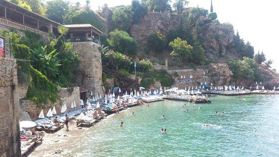 Minyon Hotel: ''Kaleiçi'' Old Town Beach area
