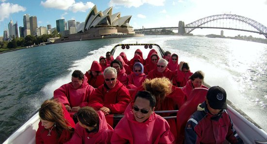 Oz Jet Boating Sydney Harbour: Jet boat ride, Sydney Harbour