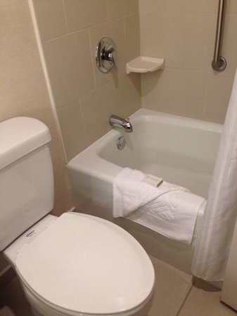 DoubleTree by Hilton Hotel South Bend : bath 2
